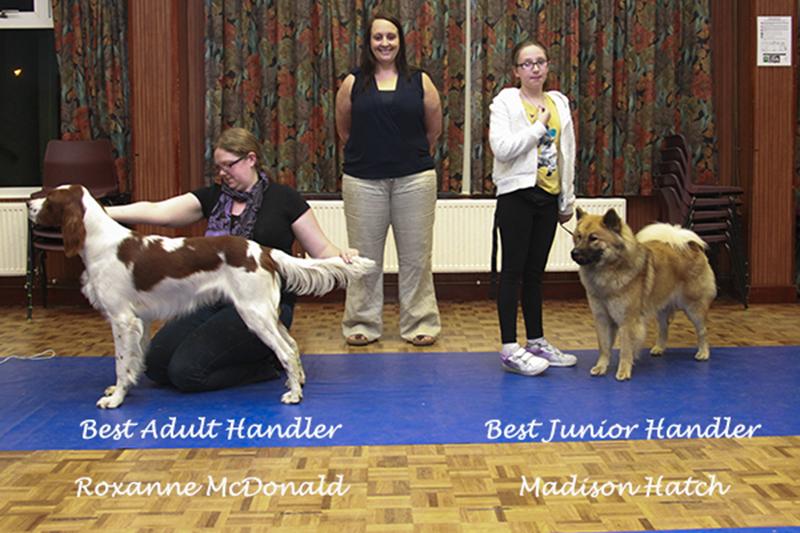 May Handling winners with Judge Hannah Walder